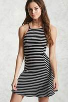 Forever 21 Ribbed Stripe Mini Dress