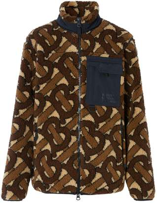 Burberry Monogram Fleece Jacket
