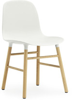 Normann Copenhagen Form Chair - Oak - White
