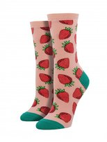 Socksmith Women's Socks Strawberries Crew 1pair