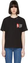 Sjyp Black l.a. Club T-shirt