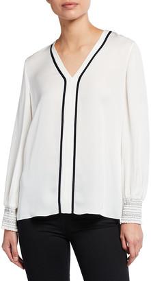 Elie Tahari Kinsley Silk Shirt