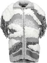 Belstaff Zandra fringed wool-blend gilet