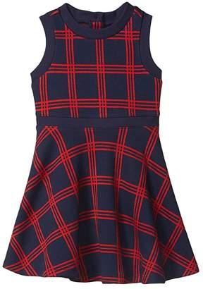 Janie and Jack Sleeveless Jacquard Dress (Toddler/Little Kids/Big Kids) (Multi) Girl's Clothing