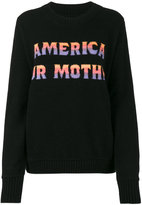 The Elder Statesman America Our Mother Jumper - women - Cashmere - XS