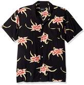 HUF Men's Rakuen Short Sleeve Shirt