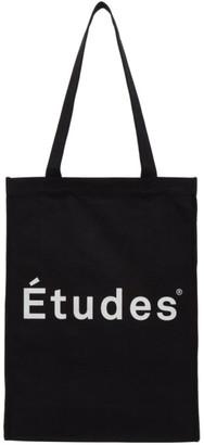 Études Black Logo November Tote