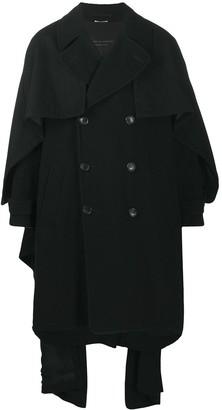 Comme des Garçons Homme Plus Shawl Wool Coat