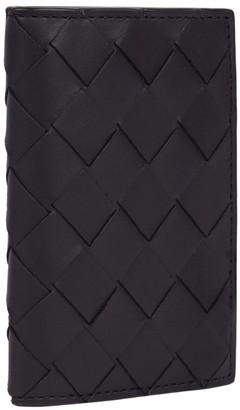 Bottega Veneta Medium Leather Intrecciato Card Holder