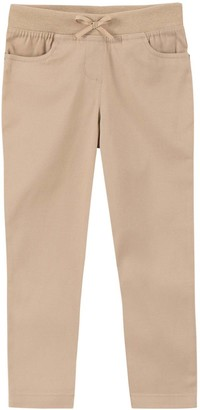 Chaps Toddler Girl Twill Pull-On Skinny Pants