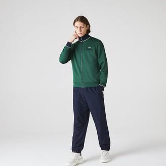 Lacoste Men's SPORT Contrast Accents Print Zip Sweatshirt