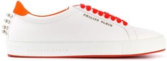 Philipp Plein Spike-Studded Low-Top Sneakers