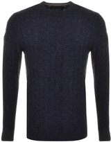 Superdry Harlo Crew Neck Jumper Navy