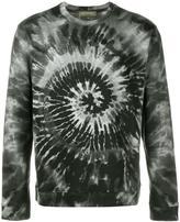 Valentino 'Tie&Dye' print sweatshirt - men - Cotton/Polyamide - S