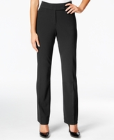JM Collection Petite Extend-Tab Curvy-Fit Pants, Created for Macy's