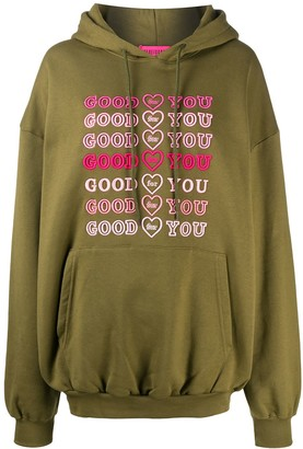 Ireneisgood Good For You drawstring hoodie