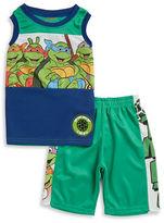 Nannette Boys 2-7 Boys Teenage Mutant Ninja Turtles Tank and Shorts Set