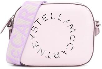 Stella McCartney Logo faux-leather shoulder bag