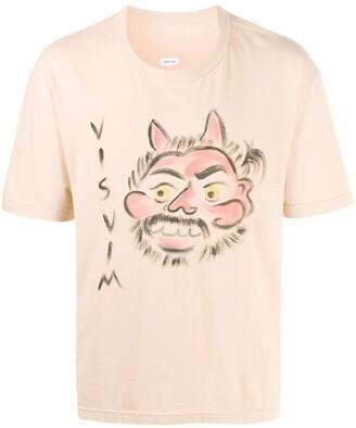 Visvim graphic print crewneck T-shirt