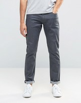 Armani Jeans J06 Slim Fit Jeans In Stretch Grey Wash