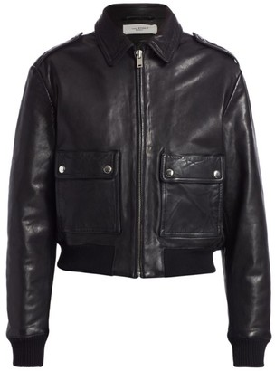 Etoile Isabel Marant Cadell Zip-Up Leather Jacket