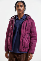 UO Hooded Polyester Liner Jacket