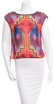 Mara Hoffman Printed Sleeveless Top