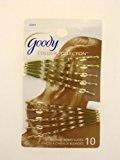 Goody WoMens Colour Collection Wavy Bobby Slides, Blonde, 10 Count