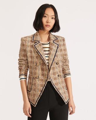Veronica Beard Theron Tweed Jacket