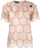 Rochas dotted T-shirt - women - Silk - 38