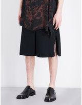 Damir Doma Belt Loop Regular-fit Cotton Shorts