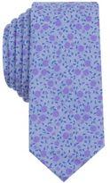 Bar III Men's Bowen Floral Slim Tie, Created for Macy's
