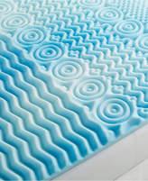 "Authentic Comfort Closeout! Authentic Comfort 5-Zone 2"" Full Foam Mattress Topper"