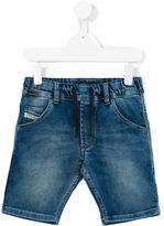Diesel denim shorts - kids - Cotton/Polyester/Spandex/Elastane - 8 yrs