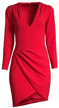 BCBGMAXAZRIA Double Knit Crepe Dress