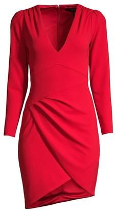 BCBGMAXAZRIA Double Knit Crepe Dress