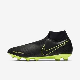 Nike Firm-Ground Soccer Cleat Phantom Vision Elite Dynamic Fit FG