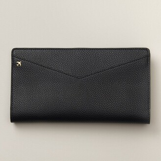 Love & Lore Avion Travel Wallet Black