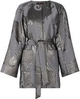Talbot Runhof Nubia jacket - women - Silk/Polyamide/Polyester/Cupro - 34