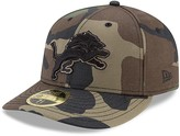 New Era Men's Detroit Lions Woodland Camo Low Profile 59FIFTY Fitted Hat