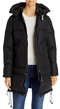 Parajumpers Long Bear Base Hooded Down Coat