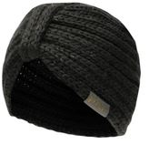 Golddigga Womens Ribbed Turban Hat Knitted Snow Winter Warm Accessories