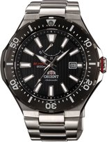 Orient #SEL07002B Men's M-Force Delta Stainless Steel Power Reserve Automatic Dive Watch