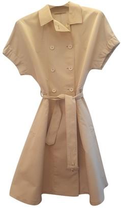 Prada Beige Silk Trench Coat for Women