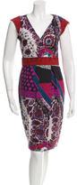 Etro Printed A-Line Dress