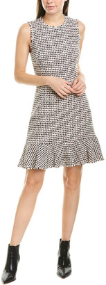Rebecca Taylor Houndstooth Sheath Dress