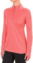 The North Face Motivation Shirt - Zip Neck, Long Sleeve (For Women)