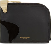 Wooyoungmi Leather half-zip pouch