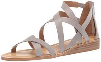 Lucky Brand Women's Helenka HIGH Heel Wedge Sandal