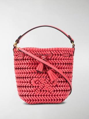 Anya Hindmarch Neeson woven bucket bag